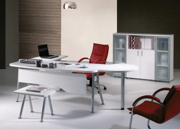 Trefoil-Set- L Shaped Desk Office Furniture