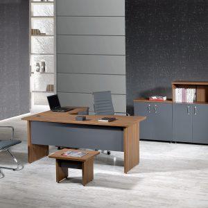Zeus L Shaped Desk Office Furniture