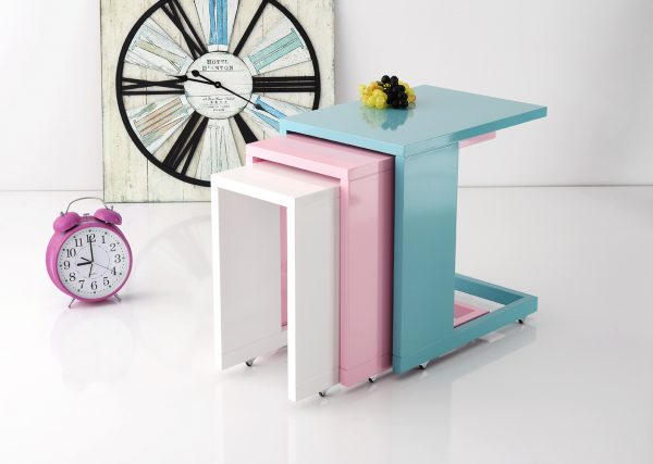 Lacquer Nesting Table