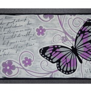 GIZ HOMES ITALIAN BUTTERFLY DESIGN OUTDOOR MAT 06