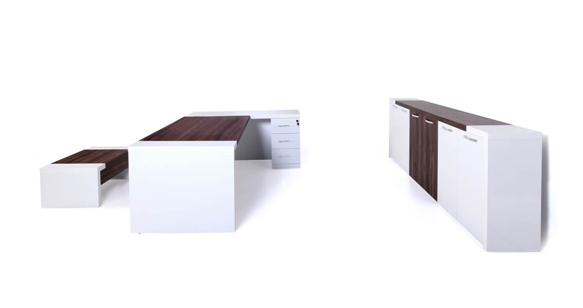 Leon White Office Furniture