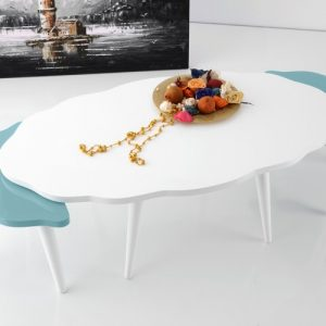 Lacquer Coffee Table Set