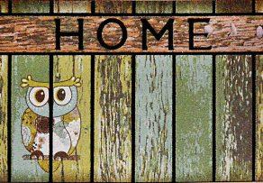 GIZ HOME'S MOSAIC DESIGN OWL OUTDOOR MAT 8834N-17