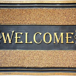 GIZ HOMES WELCOME LUX OUTDOOR MAT
