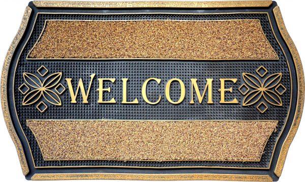GIZ HOMES WELCOME LUX OUTDOOR MAT