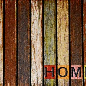 GIZ HOMES WOODEN MOSAIC DESIGN OUTDOOR MAT 8866-08
