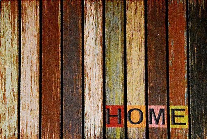 GIZ HOMES WOODEN MOSAIC DESIGN OUTDOOR MAT 8866-08