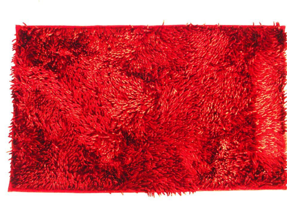 Giz Home Milano Area Rug Red