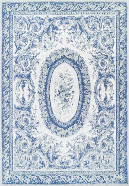 Giz Home Queen Jasmine 10Q Rectangular Area Rug