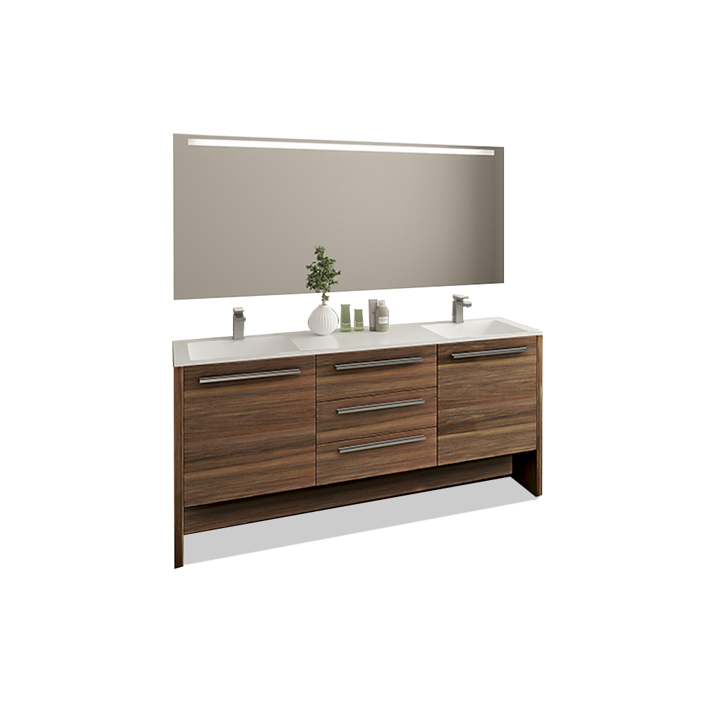 Casa Mare Nona 71 Inch Double Sink Modern Freestanding