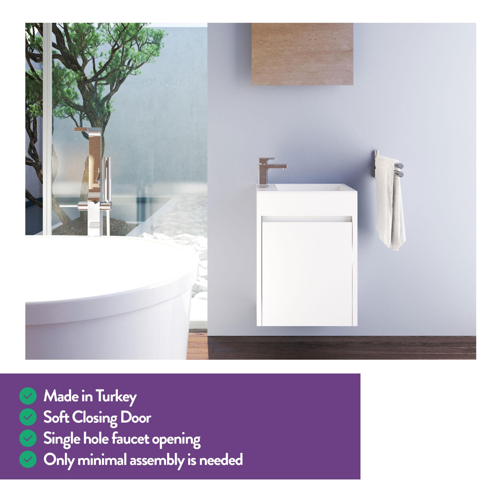 Bathroom Sinks - Undermount, Pedestal & More: 15 Inch ...